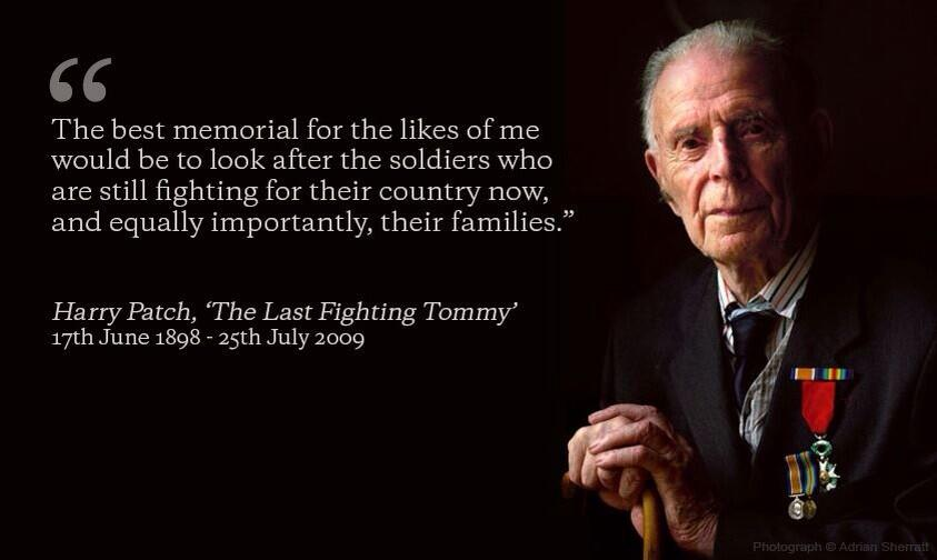 HARRY PATCH QUOTES.