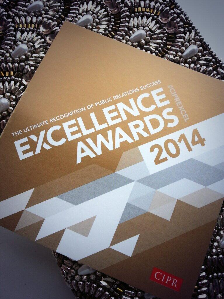 CIPR Excellence Awards tonight #ciprexcel http://t.co/p2lQg099Ht