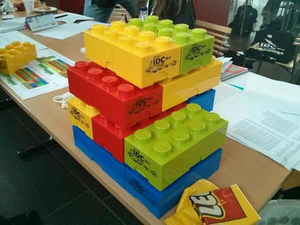 Did you get your #Lego? It's the #IDCdk conference package! =) http://t.co/xRmUfsdZC3