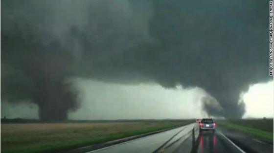 Twin tornadoes tear through northeastern #Nebraska. http://t.co/XmAzq9l1J9 #5Things #NewDay http://t.co/cIcy8CuanJ