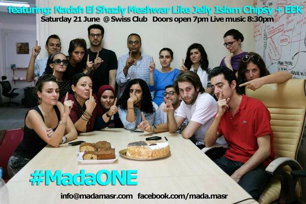 We're very serious people celebrating a very serious birthday! #MadaONE :D http://t.co/PHPnSbfbx8