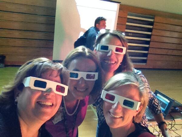 #acpscai2014 3-D glasses selfie - changing perspectives! @cyndihwells @ekorab @EnglandinVa http://t.co/98rcklY6UD