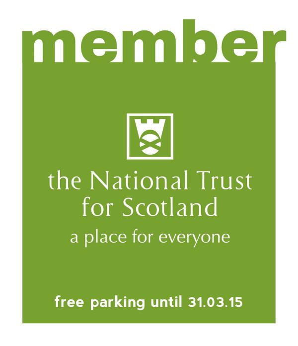 National Trust Car Stickers 2017