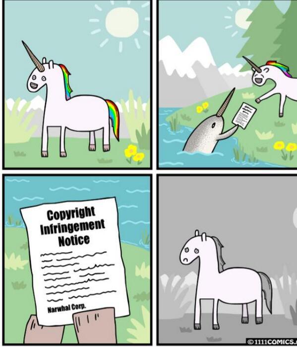 Pourquoi les licornes ont disparu. http://t.co/GhVf5h7xzp