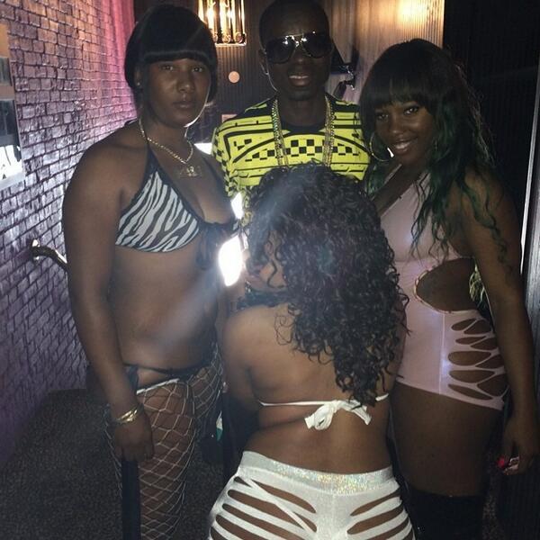 Hood strip show