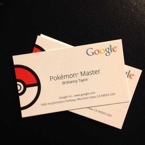 Brittanny taylor on twitter i got my pokemon master business brittanny taylor on twitter i got my pokemon master business cards from google can i put this on my resume googlemaps httptuz9hnqlgtc colourmoves