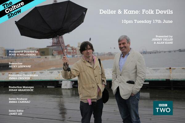 Tonight at 10pm @jeremydeller & Alan Kane explore British Folk Art, old and new. @Tate http://t.co/f9iRPLyKSL