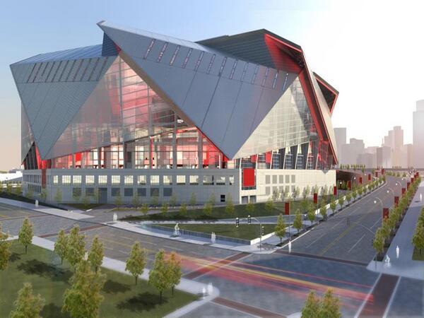 Latest renderings of new Atlanta #Falcons stadium http://t.co/DCbYUqukO9 http://t.co/jlmdhDCKZh