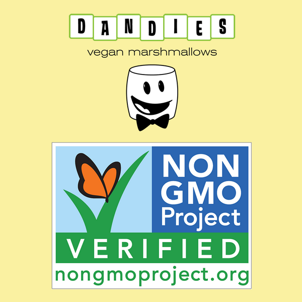 STOKED to announce Dandies #Vegan Marshmallows as the FIRST EVER marshmallow VERIFIED Non-GMO BY @NonGMOProject! http://t.co/ZDUZcjiJ6P