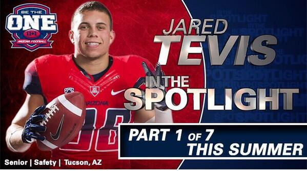 In 1 hour the @ArizonaFBall Twitter takeover with Jared Tevis begins.  Ask a question using #TevisSpotlight! http://t.co/8lNIUEtw73