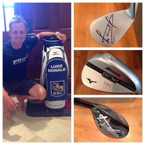 Simply RT this for a chance to win, LD Tour bag, signed 54 deg #Mizuno wedge & signed #Mizuno JPX. hybrid #rbcdonald http://t.co/1JiER46ras