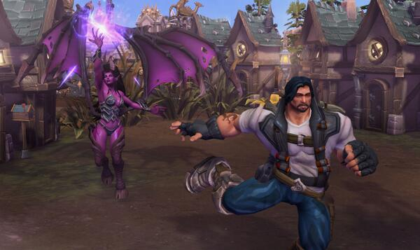 Heroes Of The Storm On Twitter Caption This Kerrigan And Raynor Have A Tumultuous History Tweet Us Your Own For Screenshot