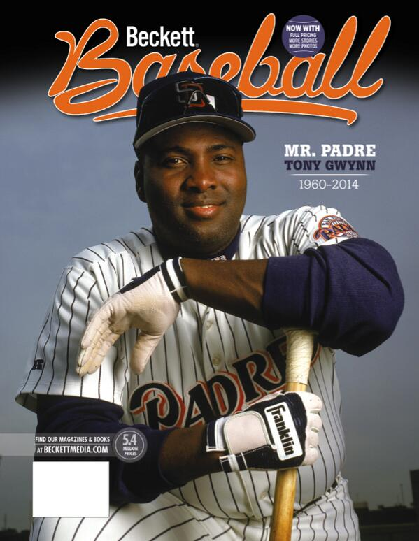 Felt the need to prep this one ASAP. Tony Gwynn coming on the cover of issue No. 102 in July: #collect http://t.co/p1nycNIF9P