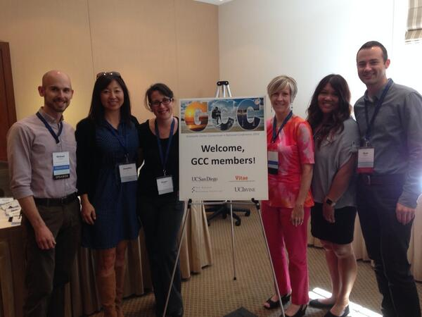 Welcome to San Diego from your conference committee! #2014GCC http://t.co/nWj96s3zY4