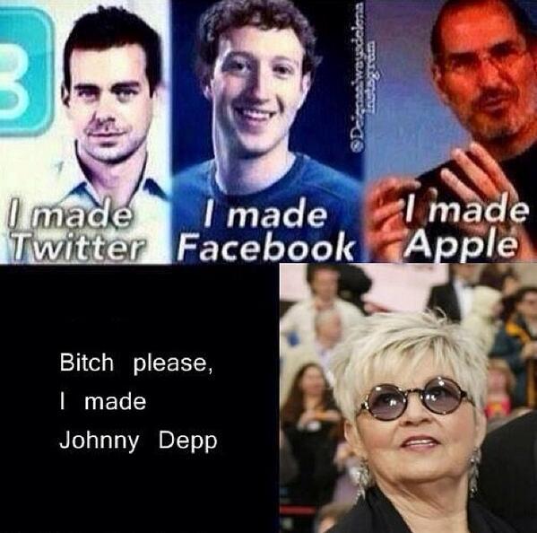 OMG Betty Sue :))) #lol #funny #johnnydepp http://t.co/jFfJs14UK6