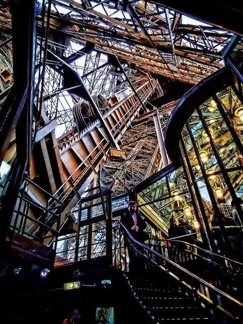 A look inside the Eiffel Tower http://t.co/gn7MBXS2f3 | #photo #Paris  rt @Peepsqueak @rosequartz0518