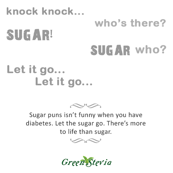 Greensteviaph On Twitter Sugar Puns Isnt Funny When You Have