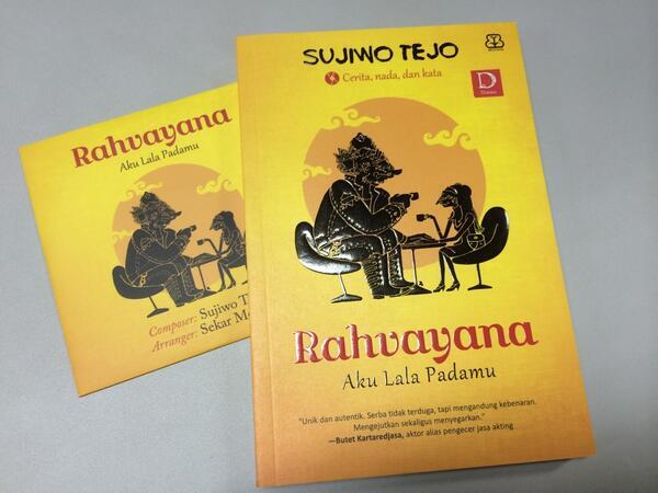 "#info Yg belum kebagian Novel-CD ""Rahvayana: Aku Lala Padamu"" mohon sabar, sedang dicetak ulang ..pic.twitter.com/a2cGj20qC4"