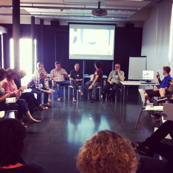 Panel of #belearning experiences across Europe moderated by @sarok http://t.co/nKR3QxQpGX http://t.co/VbvMvRUHu6