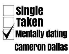 mentalt dating Cameron Dallas