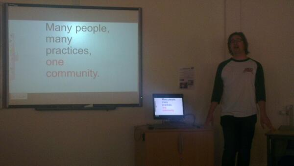 @dkernohan Not sure you can heckle that message! #cetis14 http://t.co/4rGl3WPYL8