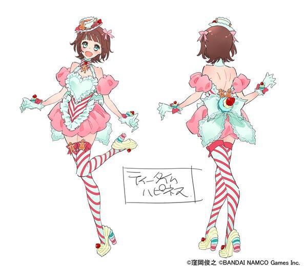アイドルマスター ピンクの衣装