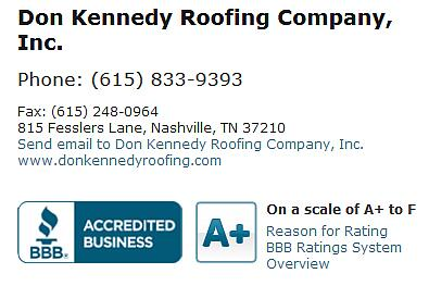 #roofing #BBB #Nashville Http://www.bbb.org/nashville/business Reviews/ Roofing Contractors/don Kennedy Roofing Company In Nashville Tn 16926 U2026 ...