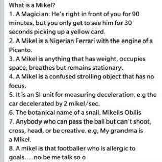 Nigerians ....Mikelis Obilis....Mikel should see this.... http://t.co/FMjIuDbLb8