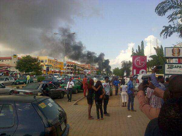 Breaking Bomb Blast Rocks Shopping Mall In Wuse Ii Abuja