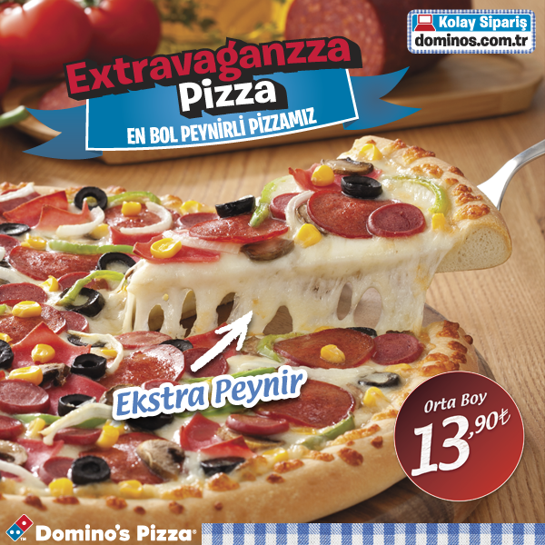 Dominos Pizza Tr On Twitter Bol Peynirli Orta Boy Extravaganzza
