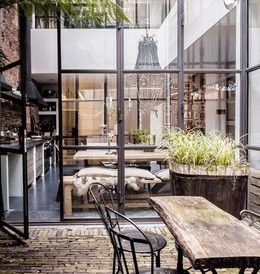 Interior Habit On Twitter 13 Industrial Glass Door Design Ideas