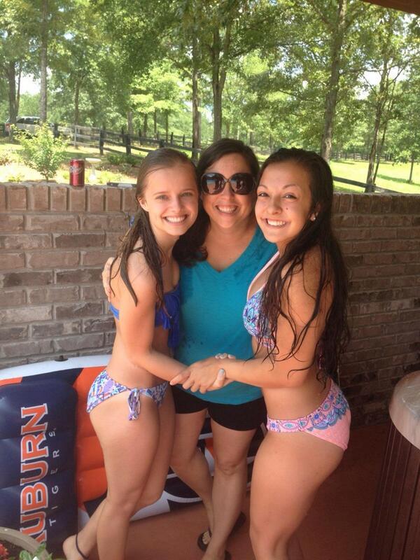 Bikini camp cheer