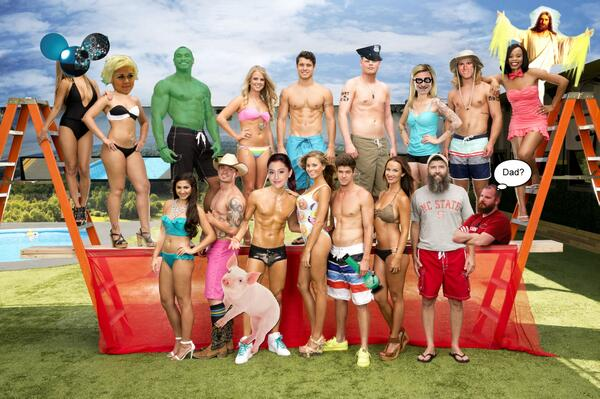 EXCLUSIVE #BB16 cast photo!  This is a PRODUCTION LEAK, and you will not find it anywhere else! http://t.co/KkgLBCIMIG