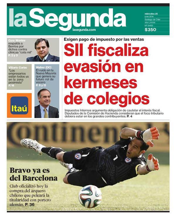 Mientras tanto en el edificio más alto de latinoamérica alguien recibe el diario, mira la portada y se caga de risa. http://t.co/og6JHwrEbU
