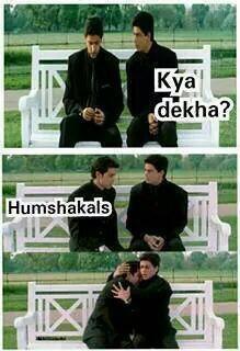 Hritik SRK discussing about Humshakals ;o) http://t.co/4LxCBe9qH7