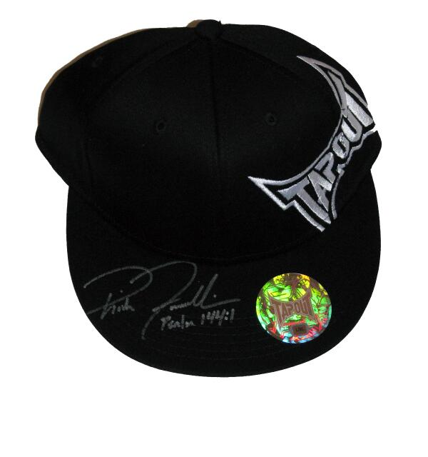 Rich Franklin signed Tapout hat. $32 w/ FREE SHIPPING in the US. Email cscmemorabilia@yahoo.com #MMA #memorabilia http://t.co/b1WBfOnDBh