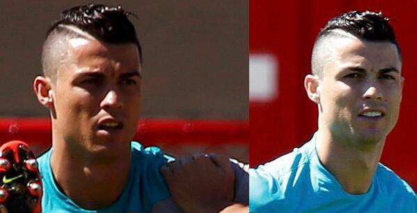 Cristiano Ronaldo Już Zdążył Zmienić Fryzurę Sport