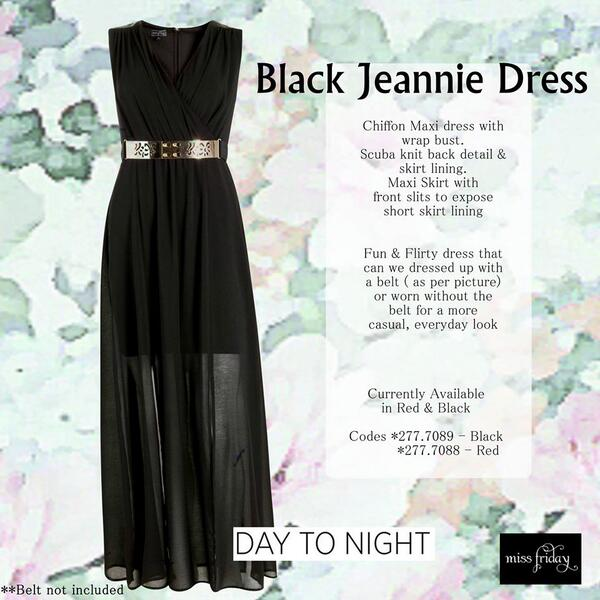 Miss Friday Yde On Twitter New Lbd The Jeannie Dress Is In