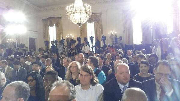 We are all ready for @WhiteHouse @makerfaire to begin #nationofmakers http://t.co/7oG8HooVO1