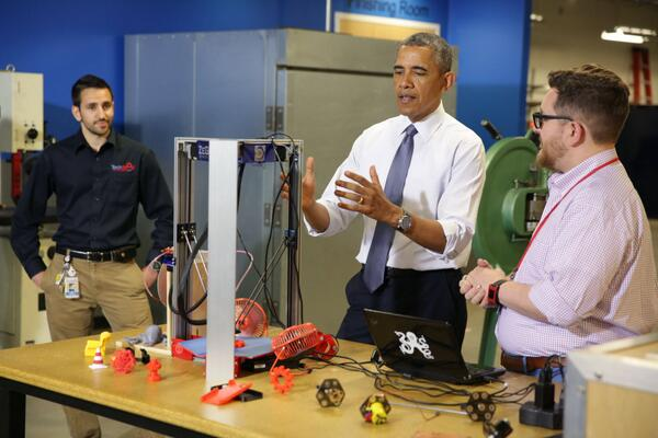 Tune in for the first-ever White House Maker Faire starting at 10am ET: http://t.co/xw80gvKQSL #NationOfMakers http://t.co/8XfvX9OHLe