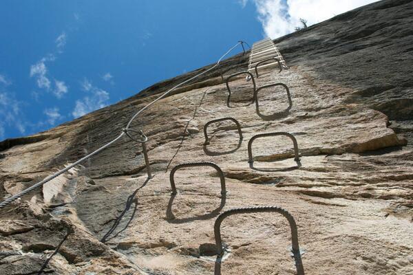 Klettersteig Zermatt : Klettersteig schweifinen m u tourenberichte und fotos hikr