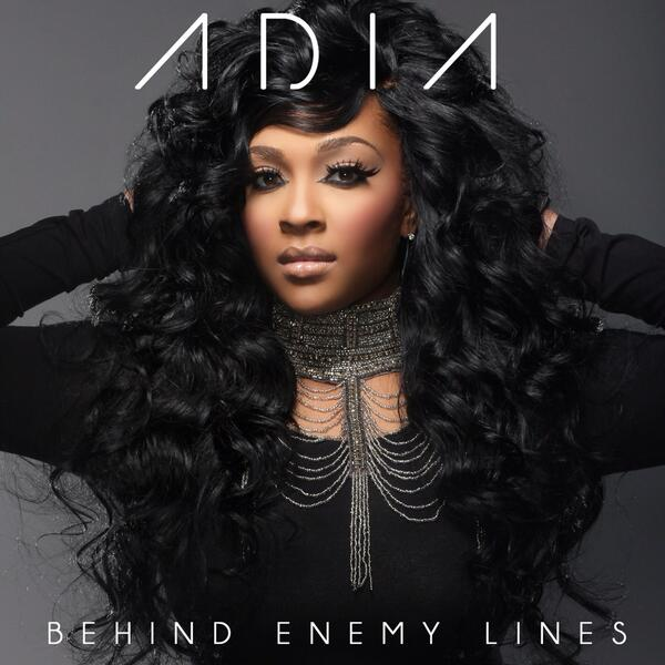 @AdiaSings album cover, album #BehindEnemyLines available July 29th Let's go! http://t.co/7IfwcKLcO3