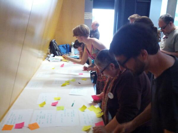 Breaking the boundaries of #collaborative #creativity in an open #BeLearning workshop. http://t.co/BJPzSJ2G5H