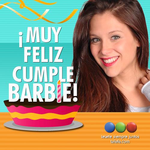 ¡Feliz cumpleaños @barvelez! Saludala en su dia y mirala todas las noches en #SomosFamilia. http://t.co/ORMPRFf7wi http://t.co/nnO536uRyp
