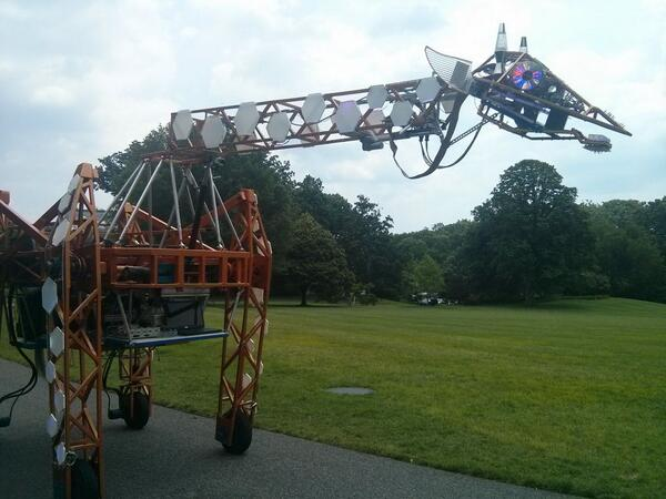 """The safety is off"": Good thing to hear about a robot giraffe? #NationOfMakers http://t.co/uMgKTV82wq"
