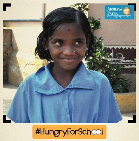 Meet Mina. Practices #yoga, loves #reading, & our #schoollunches wants to be a #Dr Help a child #HungryforSchool http://t.co/r18If2Qn9a