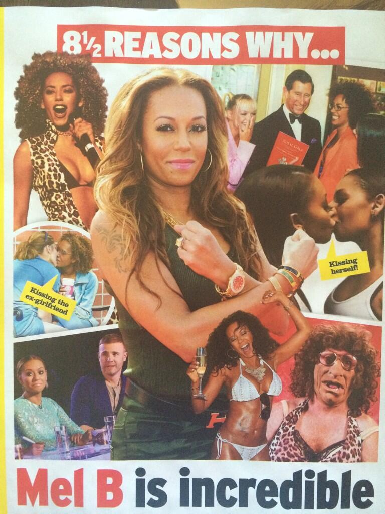Looking forward t' @OfficialMelB on't X factor! http://t.co/Dmu1qmMBi3