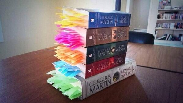 A bookmark for every death in #GameOfThrones http://t.co/BFWNc4JGJV