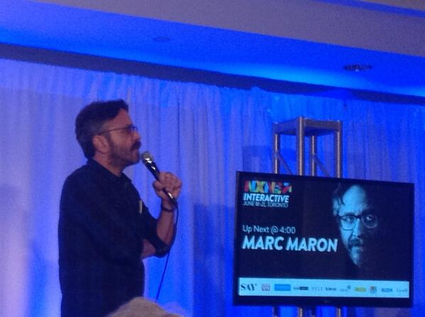 "Closing line in @marcmaron's rousing @NXNE keynote was his best: ""I don't have a demogrpahic i have a disposition."" http://t.co/hKyATEN0Z2"