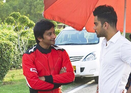 Fun shoot with Virat Kohli couple of days back, watch out for the ad when it airs soon! http://t.co/uKAYdqs363